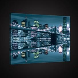 Obraz na plátne obdĺžnik - OB0900 - Nočné mesto