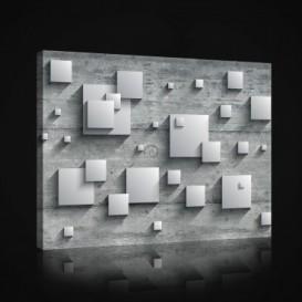 Obraz na plátne obdĺžník - OB0971 - 3D kocky