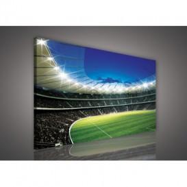 Obraz na plátne obdĺžnik - OB0203 - Futbalový štadión