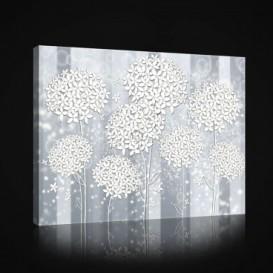 Obraz na plátne obdĺžnik - OB0993 - Biele kvety