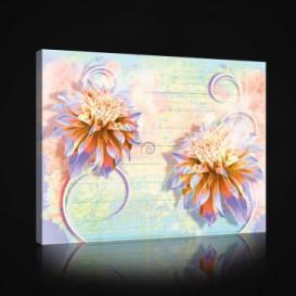 Obraz na plátne obdĺžnik - OB1029 - Žlté kvety