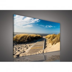 Obraz na plátne obdĺžnik - OB0260 - Pláž
