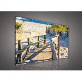 Obraz na plátne obdĺžnik - OB1086 - Pláž