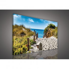 Obraz na plátne obdĺžnik - OB1101 - Pláž