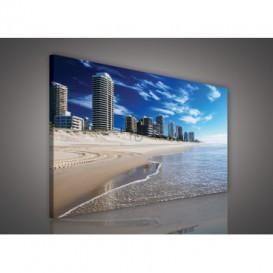 Obraz na plátne obdĺžnik - OB1102 - Pláž