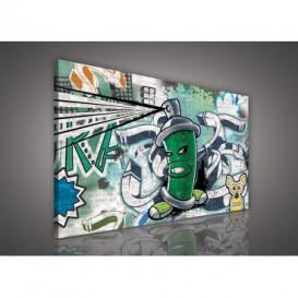 Obraz na plátne obdĺžnik - OB1114 - Grafit
