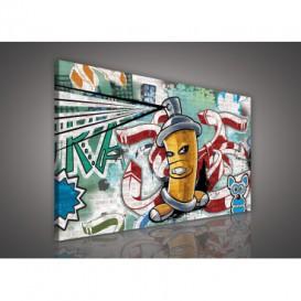 Obraz na plátne obdĺžnik - OB1117 - Grafit