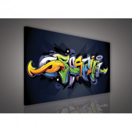 Obraz na plátne obdĺžnik - OB1122 - Grafit
