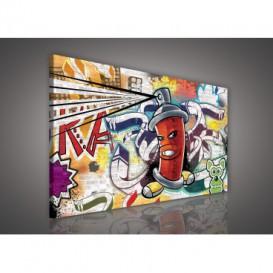 Obraz na plátne obdĺžnik - OB1130 - Grafit