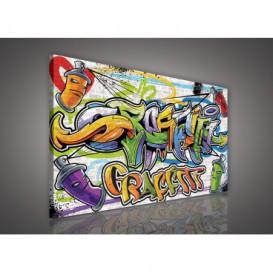 Obraz na plátne obdĺžnik - OB1132 - Grafity
