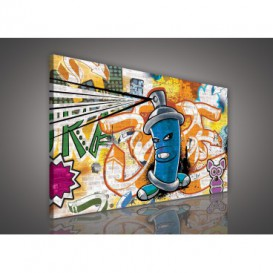 Obraz na plátne obdĺžnik - OB1133 - Grafit