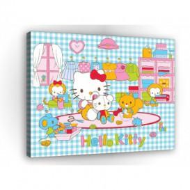 Obraz na plátne obdĺžnik - OB1203 - Hello Kitty