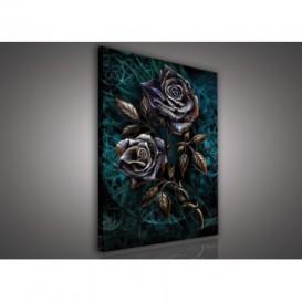Obraz na plátne obdĺžnik - OB1430 - Ruže