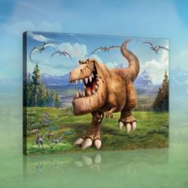 Obraz na plátne obdĺžnik - OB1526 - Dinosaury