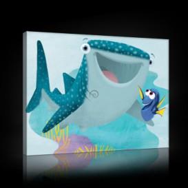 Obraz na plátne obdĺžnik - OB1564 - Hľadá sa Nemo