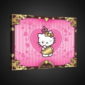 Obraz na plátne obdĺžnik - OB1609 - Hello Kitty