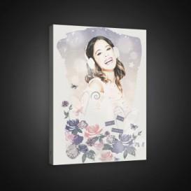 Obraz na plátne obdĺžník - OB1633 - Violetta