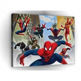 Obraz na plátne obdĺžník - OB1640 - Spiderman