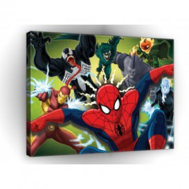 Obraz na plátne obdĺžnik - OB1643 - Spiderman