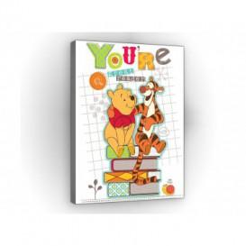Obraz na plátne obdĺžnik - OB1657 - Medvedík Pu a kamaráti