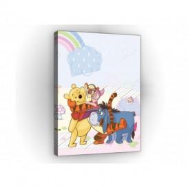 Obraz na plátne obdĺžník - OB1662 - Medvedík Pu a kamaráti