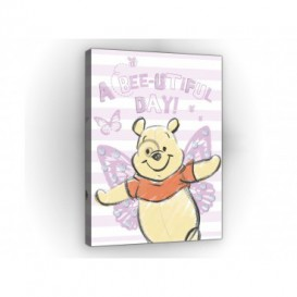 Obraz na plátne obdĺžník - OB1668 - Medvedík Pu a kamaráti