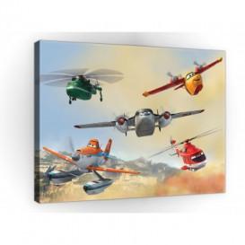 Obraz na plátne obdĺžnik - OB1675 - Lietadlá