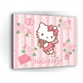 Obraz na plátne obdĺžnik - OB1686 - Hello Kitty