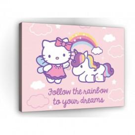Obraz na plátne obdĺžnik - OB1689 - Hello Kitty