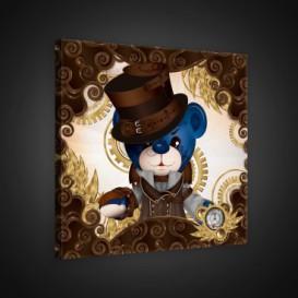 Obraz na plátne štvorec - OB1843 - Medvedíky