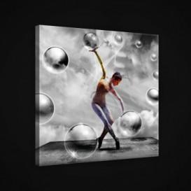 Obraz na plátne štvorec - OB1910 - Baletka