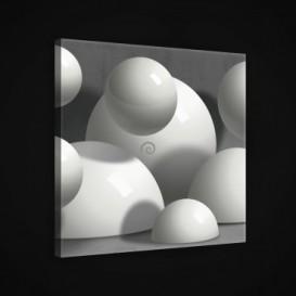 Obraz na plátne štvorec - OB1911 - 3D gule