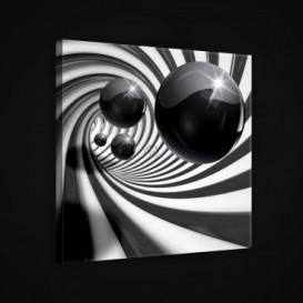 Obraz na plátne štvorec - OB1920 - 3D gule