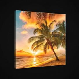 Obraz na plátne štvorec - OB1931 - Pláž
