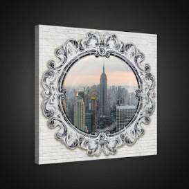 Obraz na plátne štvorec - OB1933 - New York obraz
