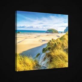 Obraz na plátne štvorec - OB1982 - Pláž