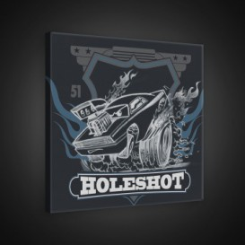 Obraz na plátne štvorec - OB2090 - Cars