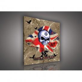 Obraz na plátne štvorec - OB2100 - Lebka