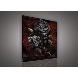 Obraz na plátne štvorec - OB2107 - Ruže