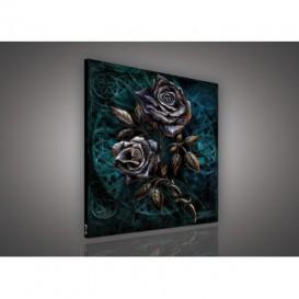 Obraz na plátne štvorec - OB2109 - Ruže