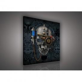 Obraz na plátne štvorec - OB2112 - Lebka