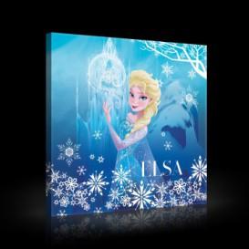 Obraz na plátne štvorec - OB2117 - Snehová kráľovná