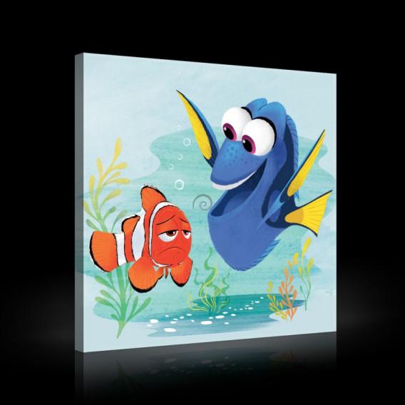 Obraz na plátne štvorec - OB2119 - Hľadá sa Nemo
