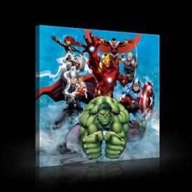 Obraz na plátne štvorec - OB2123 - Avengers