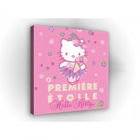 Obraz na plátne štvorec - OB2132 - Hello Kitty