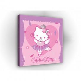 Obraz na plátne štvorec - OB2133 - Hello Kitty