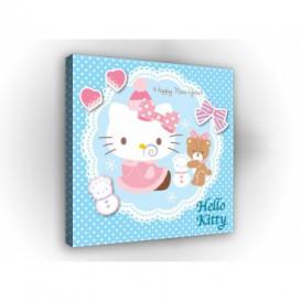 Obraz na plátne štvorec - OB2135 - Hello Kitty