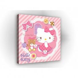 Obraz na plátne štvorec - OB2139 - Hello Kitty