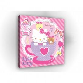 Obraz na plátne štvorec - OB2141 - Hello Kitty