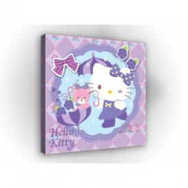 Obraz na plátne štvorec - OB2142 - Hello Kitty